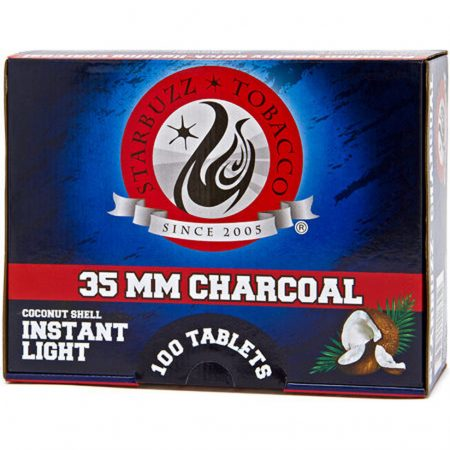 Starbuzz-Coconut-Shell-Instant-Light-Charcoal-40mm-1