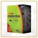 Irfaz coco zeal FLATS | natural coal for hookah | Shisha Shop