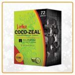 Irfaz coco zeal cube | cheap hookah coal | Shisha Shop